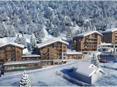 perspective projet MGM Les Contamines-Montjoie